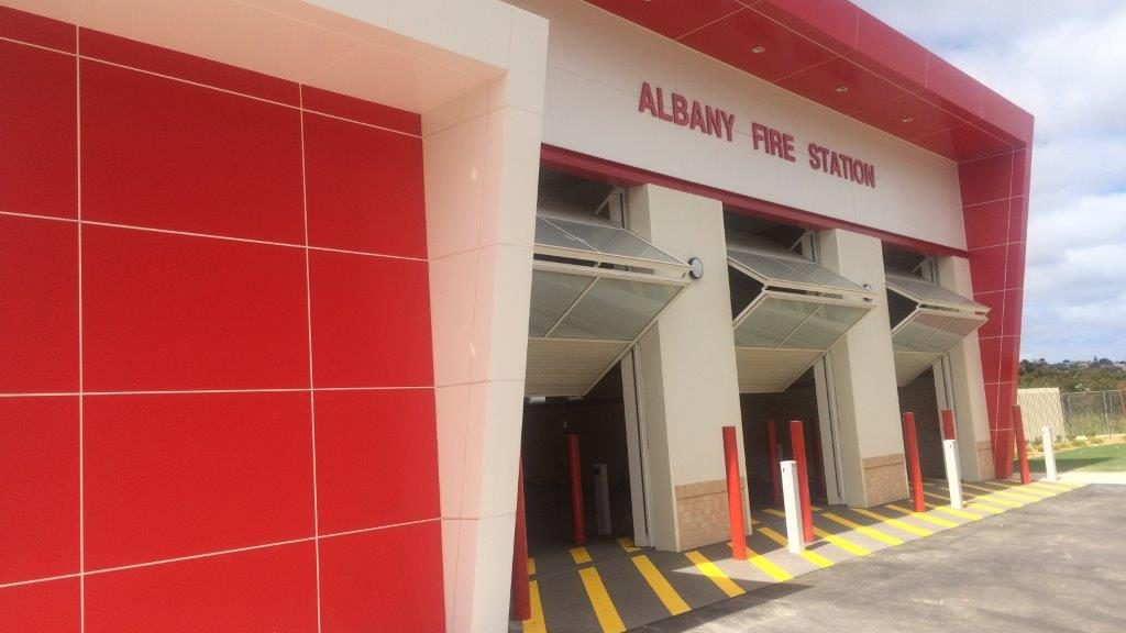 Wespray on Paving resurfacing Albany fire station