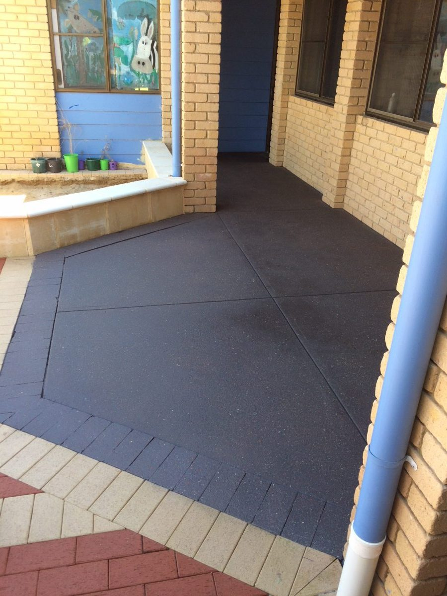 spray on paving Perth