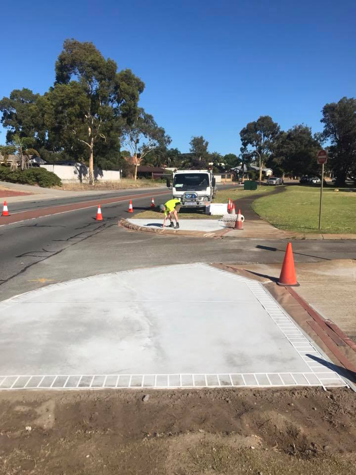 spray on pavement perth